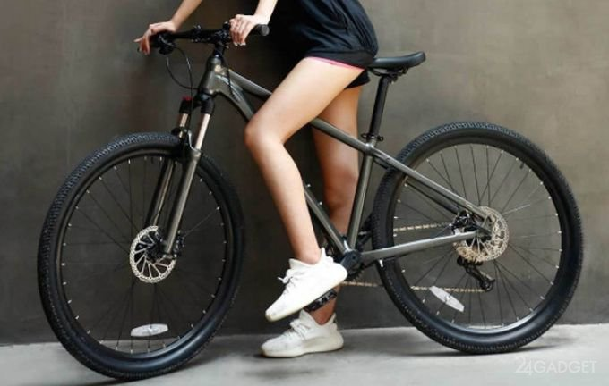 Велосипед Xiaomi Mi Qicycle Mountain Bike стоимостью $300 (4 фото)