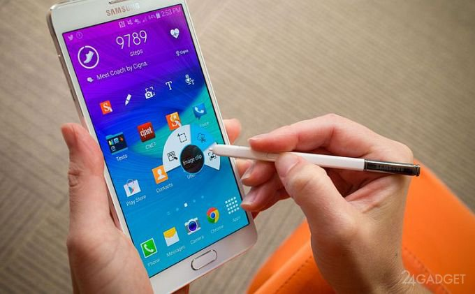 Samsung отзывает Galaxy Note 4 из-за проблем с аккумулятором