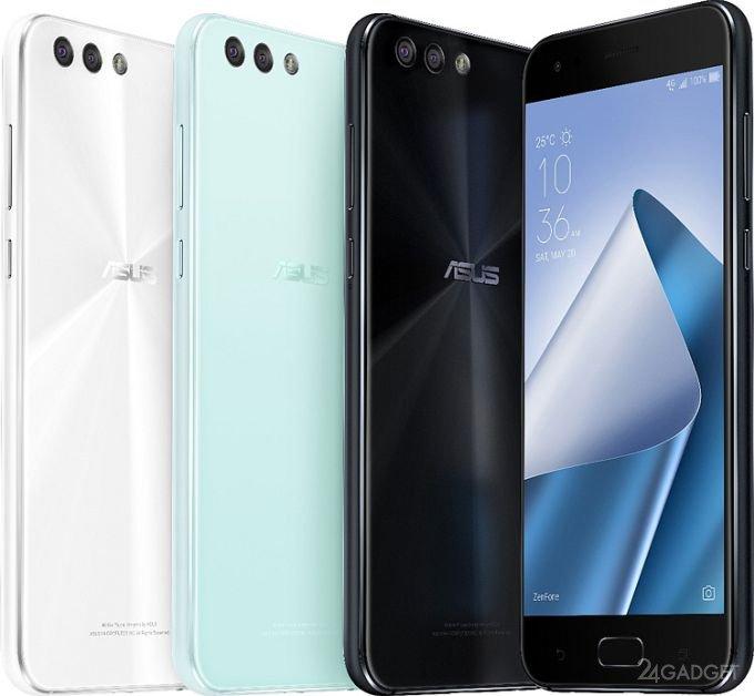 ASUS представила 6 новых телефонов линейки ZenFone 4