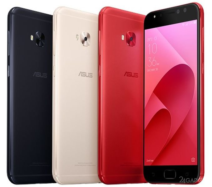 Asus анонсировала мобильные телефоны ZenFone 4 иZenFone 4 Pro