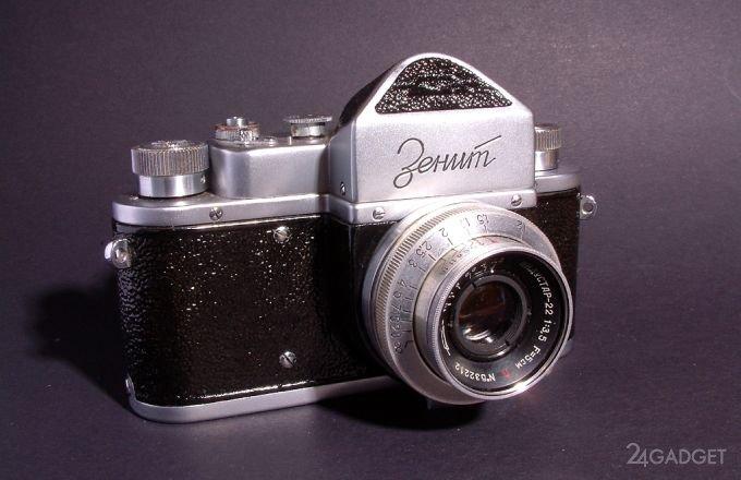 Отечественный фотоаппарат «Зенит» вернётся на рынок в новом формате