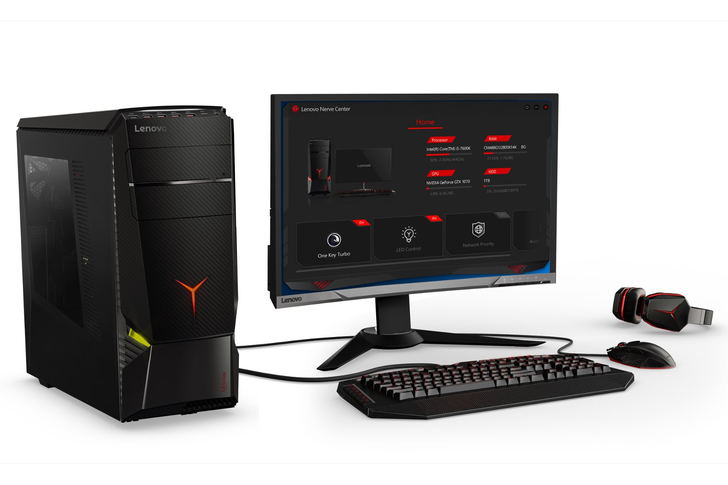 lenovo legion gaming computers from 750 euro 10 photos. Black Bedroom Furniture Sets. Home Design Ideas