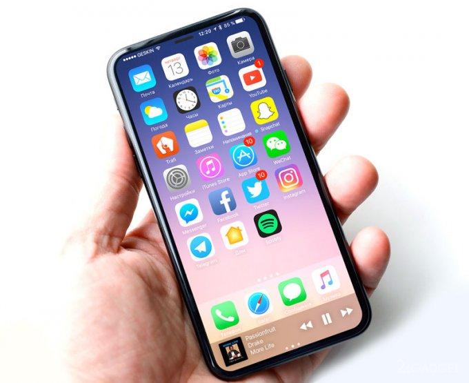 Заводские фото открывают новые подробности о функционале iPhone 8 (5 фото)