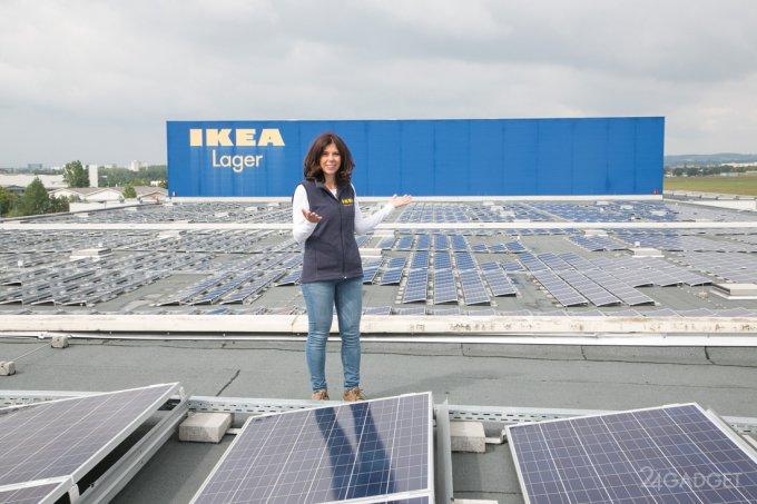 IKEA начинает продажу домашних солнечных панелей и аккумуляторов (6 фото)