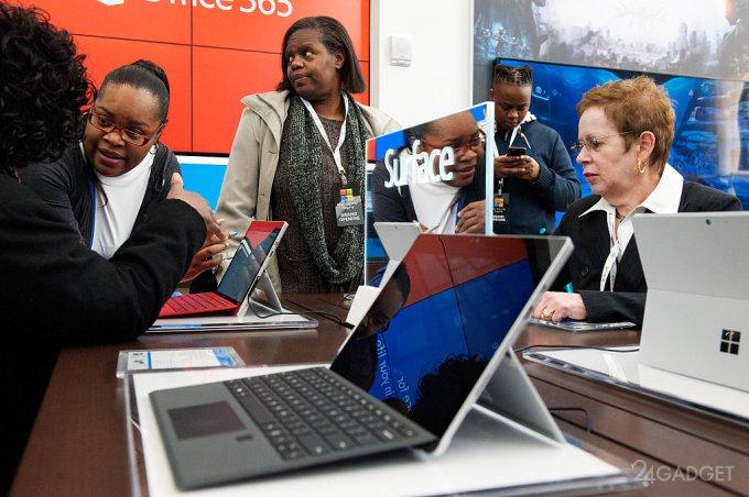 Устройства Microsoft Surface оказались под огнем критики