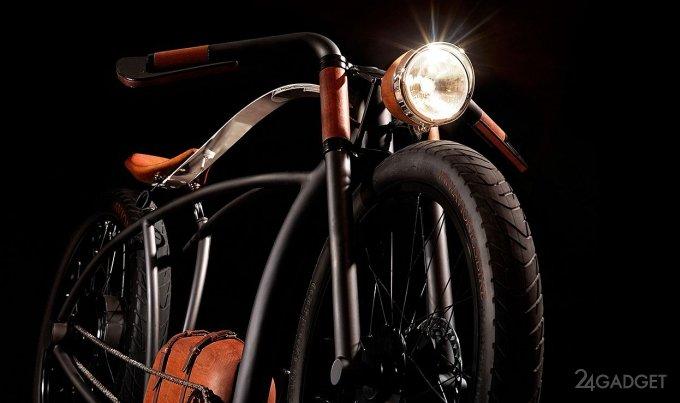 Электровелосипед в стиле ретро (8 фото + видео)