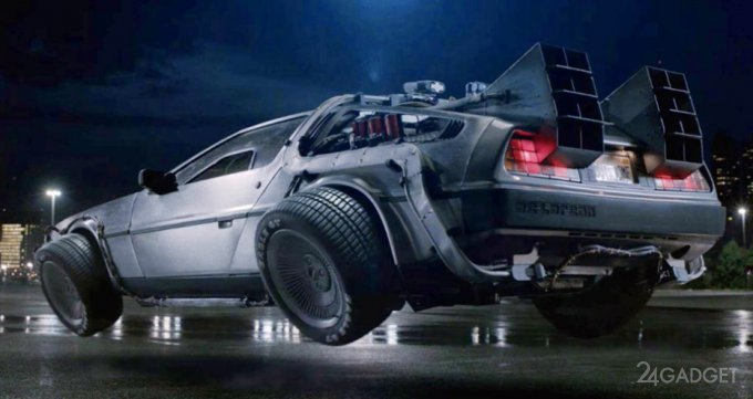 Летающий DeLorean скоро станет реальностью? (5 фото + видео)