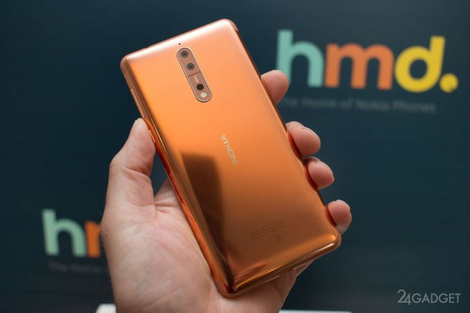Анонсирован флагманский смартфон Nokia 8 (26 фото + 3 видео)