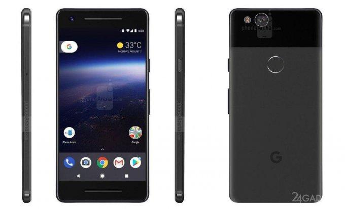 Google представит смартфоны Pixel 2 и Pixel XL 2 в октябре