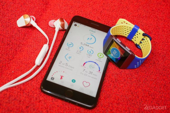 Смарт-часы Fitbit Ionic порадуют своим функционалом (24 фото + видео)