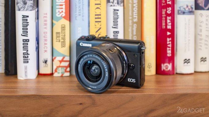 Canon M100 — беззеркалка с поворотным экраном, Wi-Fi, NFC и Bluetooth