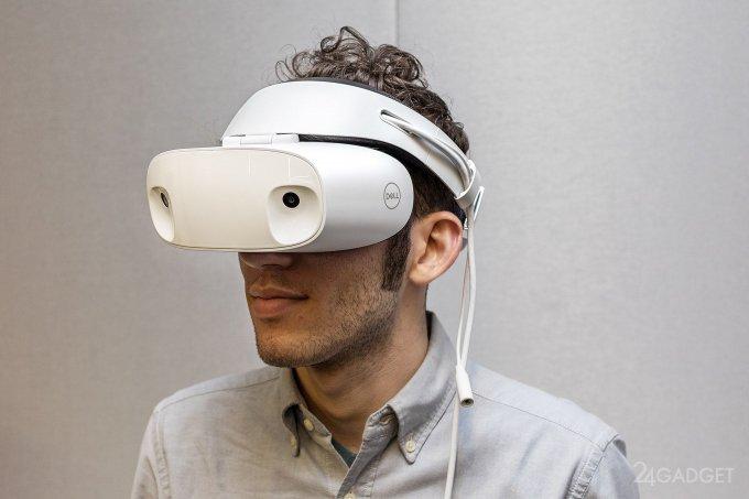 Гарнитура смешанной реальности Dell Visor (10 фото + видео)