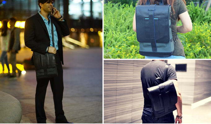 Универсальный рюкзак с солнечной панелью и аккумулятором (21 фото + видео)