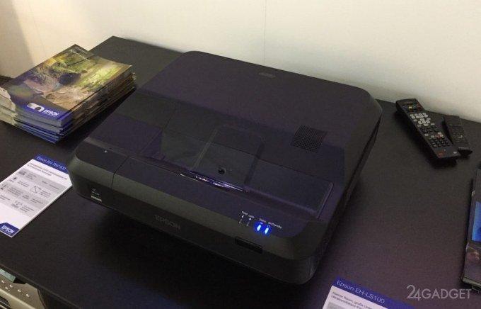 Проектор Epson LS100 - телевизоры теперь ни к чему!