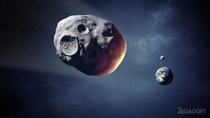 Пролетевший 1 сентября мимо Земли астероид оказался не так прост