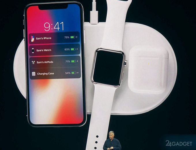 Apple AirPower — беспроводная зарядка на три устройства (4 фото + видео)