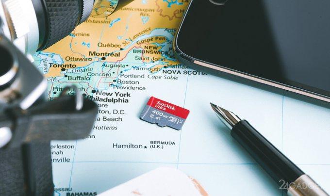 Суперёмкая карта памяти microSD обойдётся в 250 долларов