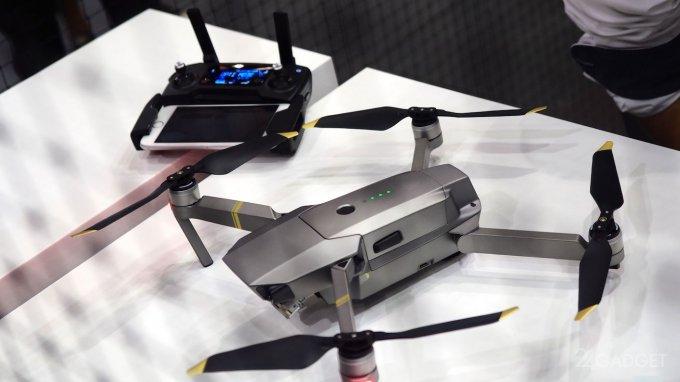 На IFA 2017 компания DJI показала новые дроны (6 фото + 2 видео)