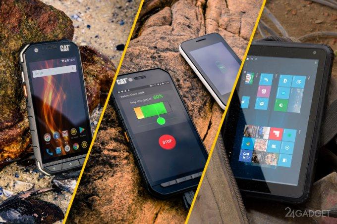 «Неубиваемые» смартфоны S31, S41 и планшет T20 от Cat (23 фото + видео)