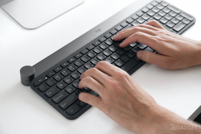 Logitech Craft — клавиатура с функциональным смарт-переключателем (14 фото + видео)