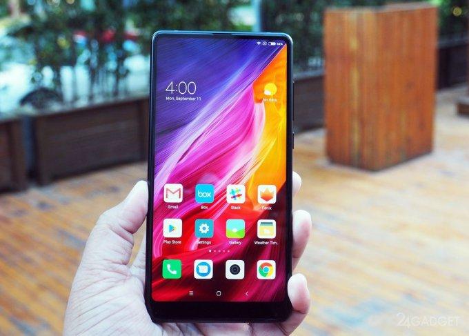 Xiaomi Mi Mix 2 — доступный безрамочный 6-дюймовый флагман