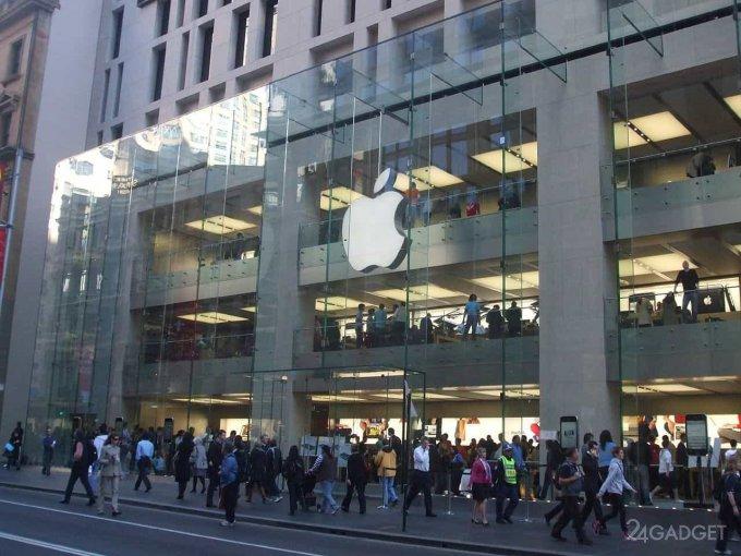За новым iPhone уже выстраивается живая очередь (4 фото)