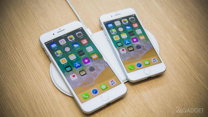 iPhone 8 и 8 Plus — обновлённые версии прошлогодних моделей (32 фото + 2 видео)