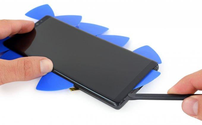 В iFixit оценили ремонтопригодность Samsung Galaxy Note 8 (17 фото + видео)