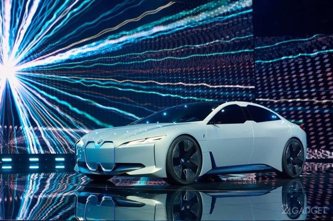 Электроседан с задатками спорткара от BMW