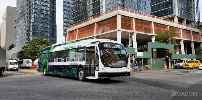 Электроавтобус проехал рекордное в мире расстояние без подзарядки