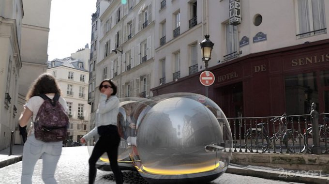 Левитирующий автомобиль-пузырь The Float от Renault (9 фото + видео)
