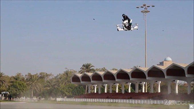 Полиция Дубая протестировала российский ховербайк Scorpion 3 (3 фото + 2 видео)