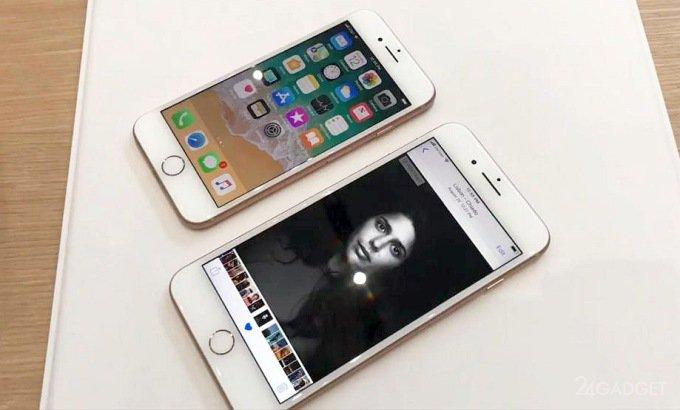 Производство iPhone 8 и iPhone 8 Plus сокращено вполовину