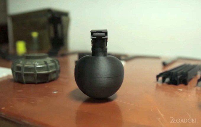 Американские военные печатают взрывчатку на 3D-принтерах (видео)