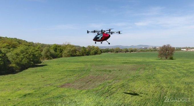 Passenger Drone - конкурент летающего такси из Дубая (11 фото + видео)