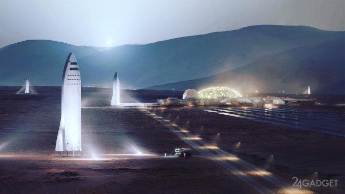 Илон Маск: покорение Марса начнётся в 2022 году (7 фото + видео)