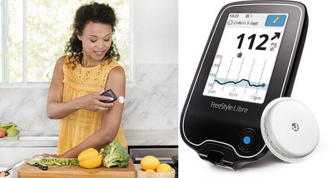 Глюкометр FreeStyle Libre не требует прокола пальца и тест-полосок