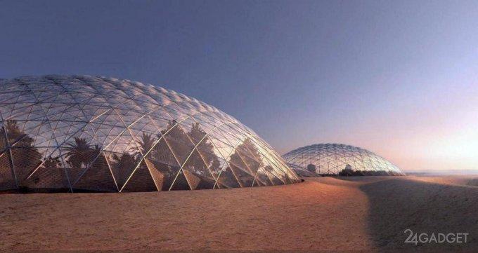 Дубай построит марсианский город в пустыне (4 фото)