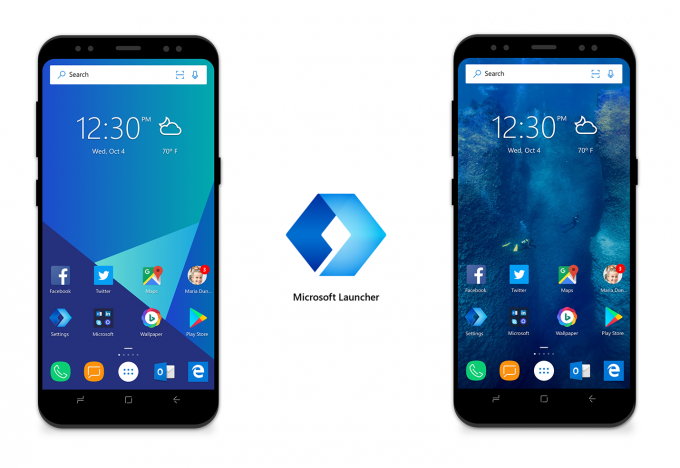 Microsoft начинает тестирование фирменного лаунчера для Android (4 фото)