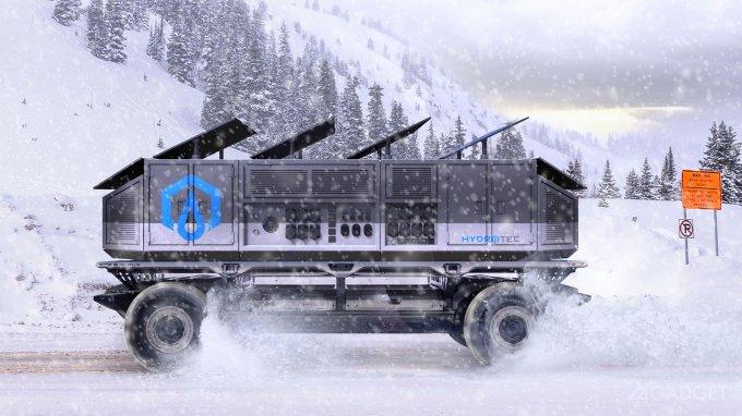 GM SURUS — автономная грузовая платформа на водороде (12 фото)