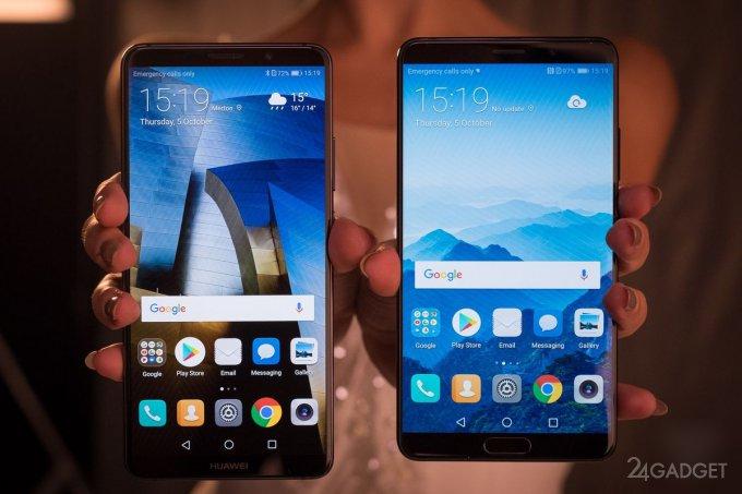 Mate 10 и Mate 10 Pro — новые флагманы Huawei (14 фото + 2 видео)