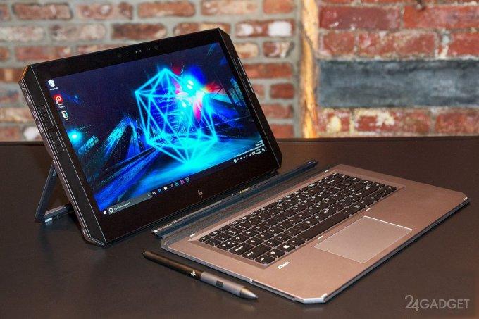 HP ZBook x2 — сверхмощная портативная рабочая станция для художников (19 фото + 2 видео)