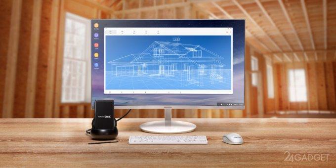 Док-станция Samsung DeX работает под Linux (3 фото)