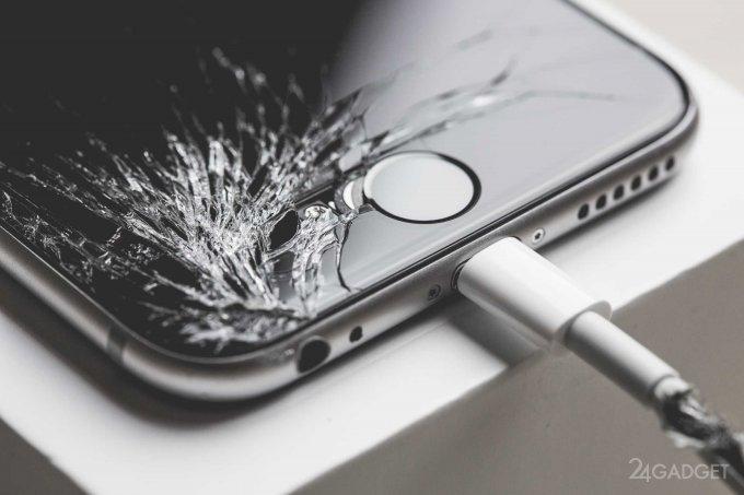 Последняя iOS распознаёт неоригинальные дисплеи в iPhone