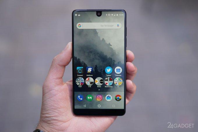 Цена Essential Phone, смартфона Энди Рубина, уменьшилась на $200