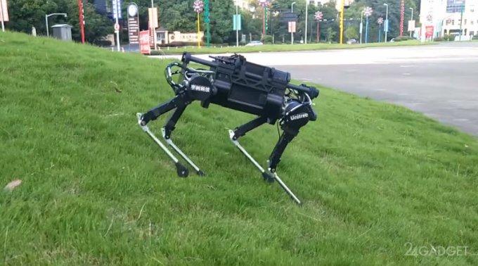 Китайский робопёс Laikago, как у Boston Dynamics (видео)