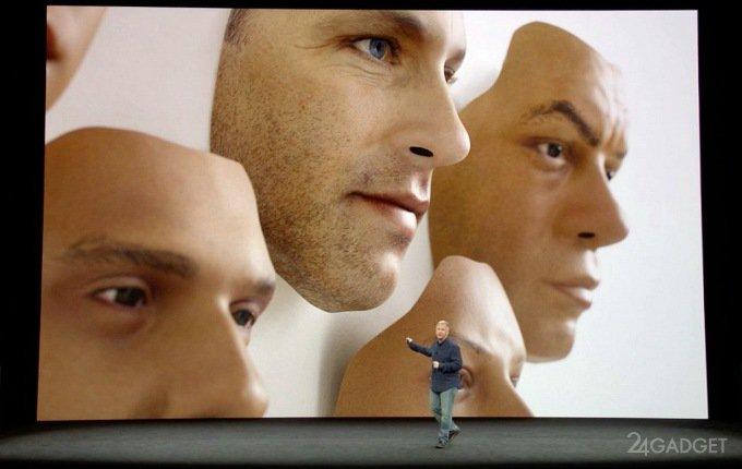 Надёжность Face ID скомпрометировали маской (видео)