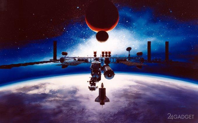 «Роскосмос» планирует строительство АЭС на орбите