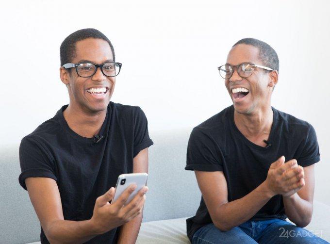 Надёжность Face ID в iPhone X проверили на близнецах
