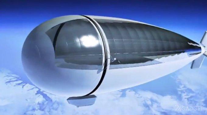 Для полётов в космос японцы строят дирижабль